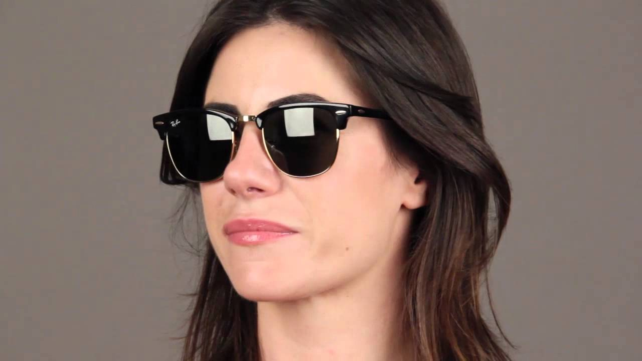 be24e464f14 Ray-Ban RB3016 Clubmaster Sunglasses Review - YouTube