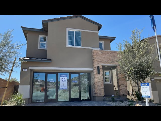 Armano by Lennar   New Homes For Sale Lake Las Vegas   Morgan House Tour   Balcony   $444k+ 2160 sf