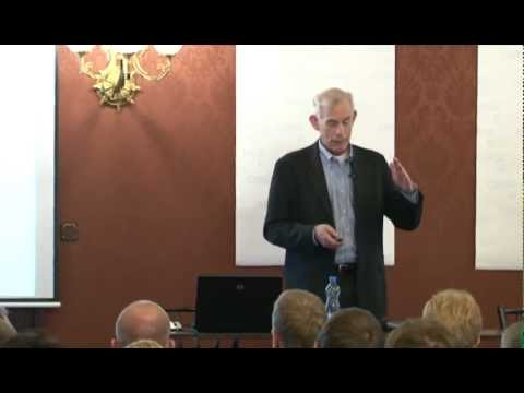 "Christopher Sims CERGE-EI Lecture ""Current Macroeconomics and Reality"" 05 June 2012"