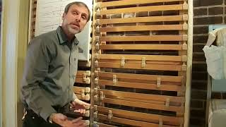 Tailoring European slats to fit a woman's curves