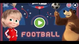 Masha e Orso Italiano - Masha is suprised - Masha and The Bear - Futball
