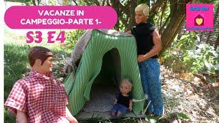 Barbie show-Una famiglia imperfetta S3 E4-Gita in campeggio-prima parte(Camping trip-part 1)