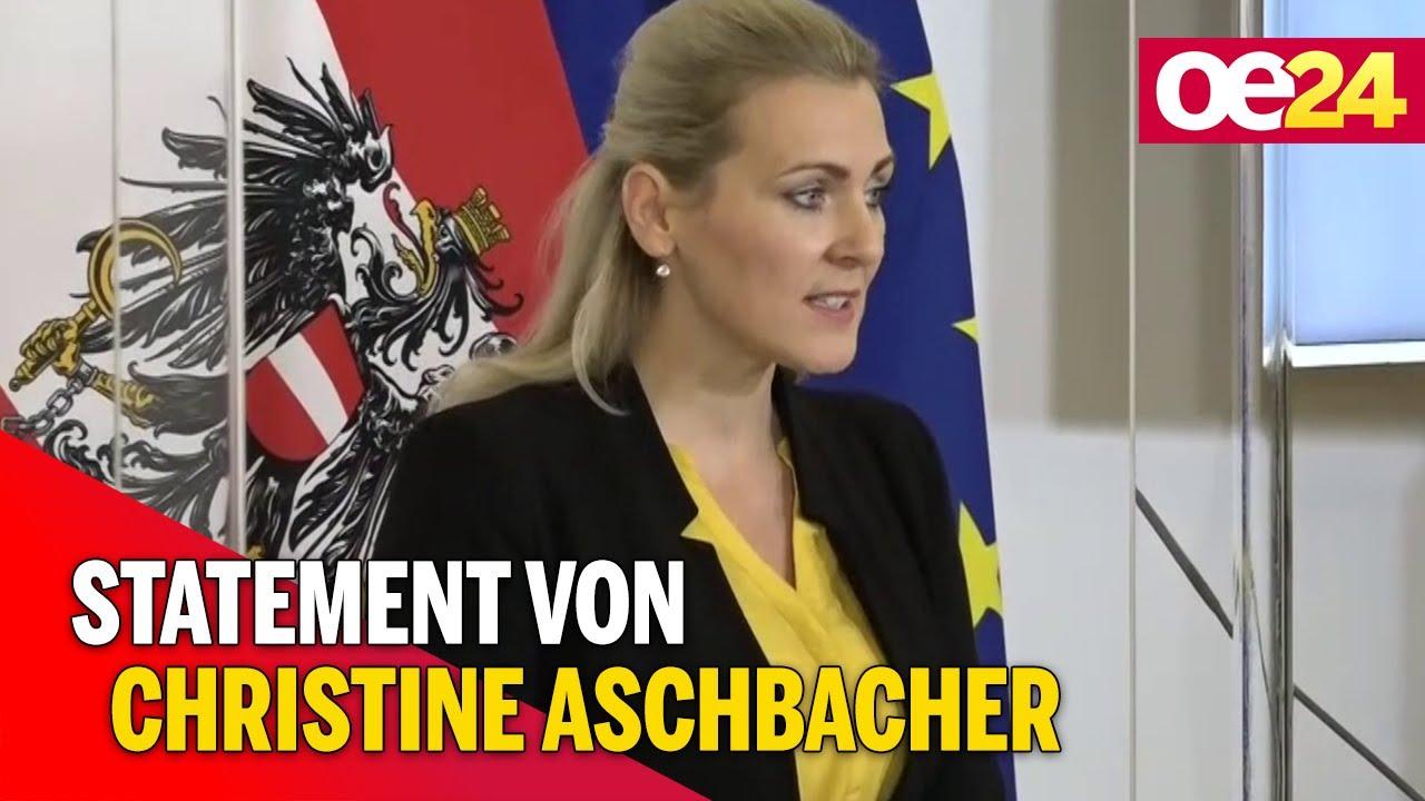 Arbeitsmarktsituation Statement Von Christine Aschbacher Youtube