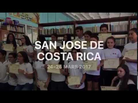 Déplacement San José de Costa Rica 24 - 25 mars 2017