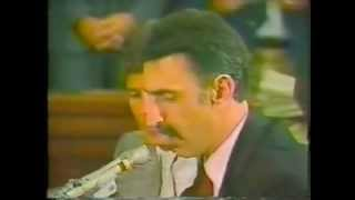 Frank Zappa at PMRC Senate Hearing on Rock Lyrics