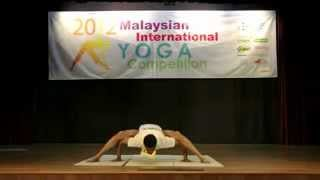 Malaysian International Yoga Competition 2012 by Master Manisekaran & MYS