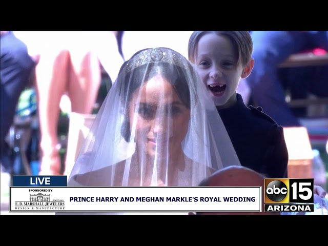 FULL: Meghan Markle walks down the aisle at the Royal Wedding