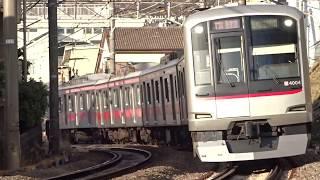 東急東横線5050系4000番台4104F菊名4号踏切通過