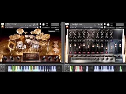 8Dio Advanced Drum Series Blackbird Kit