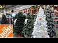 ALL CHRISTMAS TREES AT THE HOME DEPOT - Christmas Shopping Christmas Tree Shop (4K)