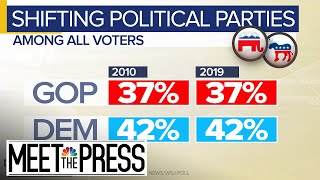 Parties See Big Demographic Changes Despite Overall Static Size | Meet The Press | NBC News