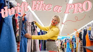 how to ACTUALLY thŗift like a pro ✨ the ULTIMATE beginners guide to thrifting ✨