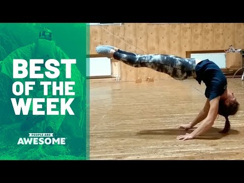 Best of the Week: Balance Exercises, Skiing & Snowboarding | People Are Awesome