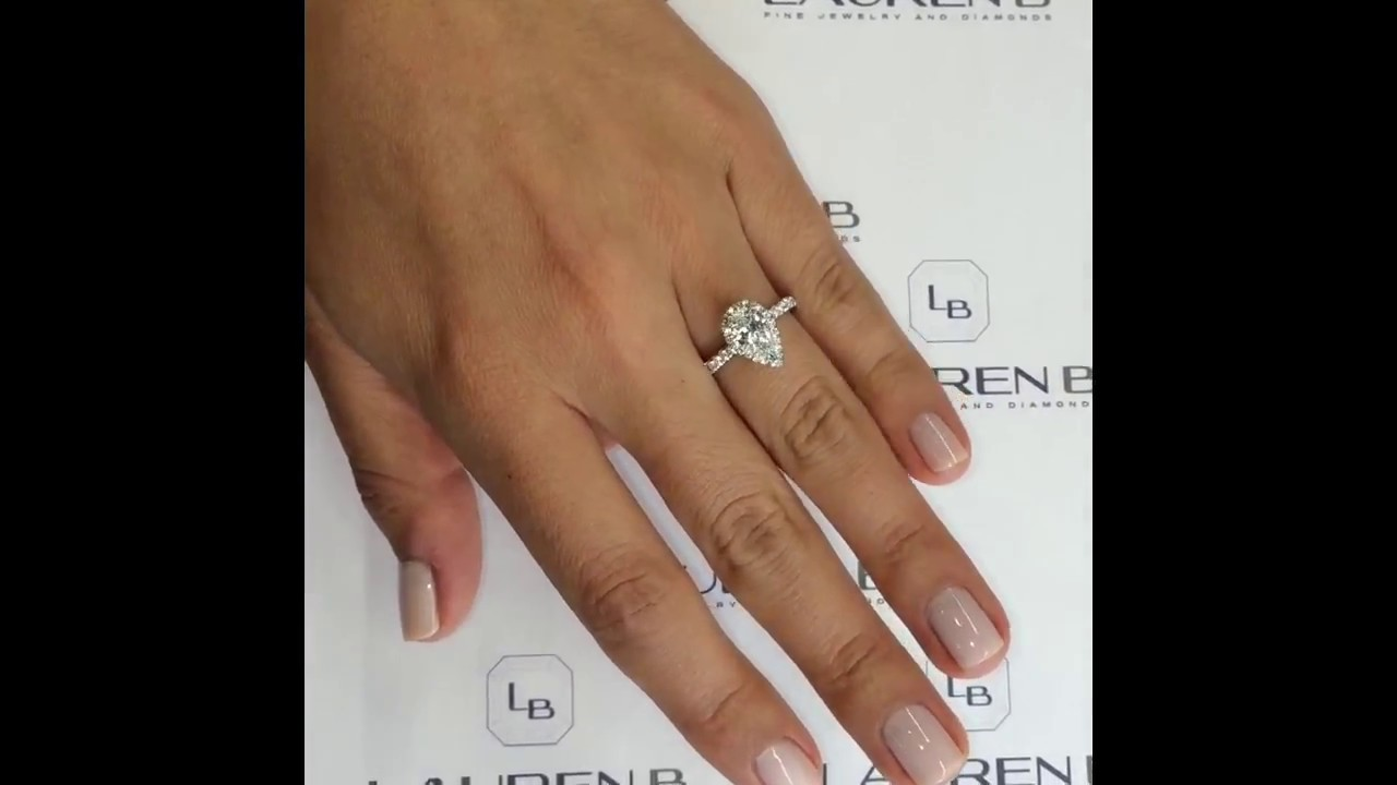 ring carat two artemer one finger diamonds rhombus engagement on diamond trillion products