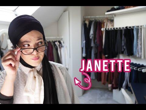 Si une RACISTE venait dans mon dressing | Dressing Tour By Janette