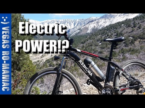 ANCHEER Electric Bicycle - Super easy Assembly and first RIDE AKA Eshion Cyclamatic