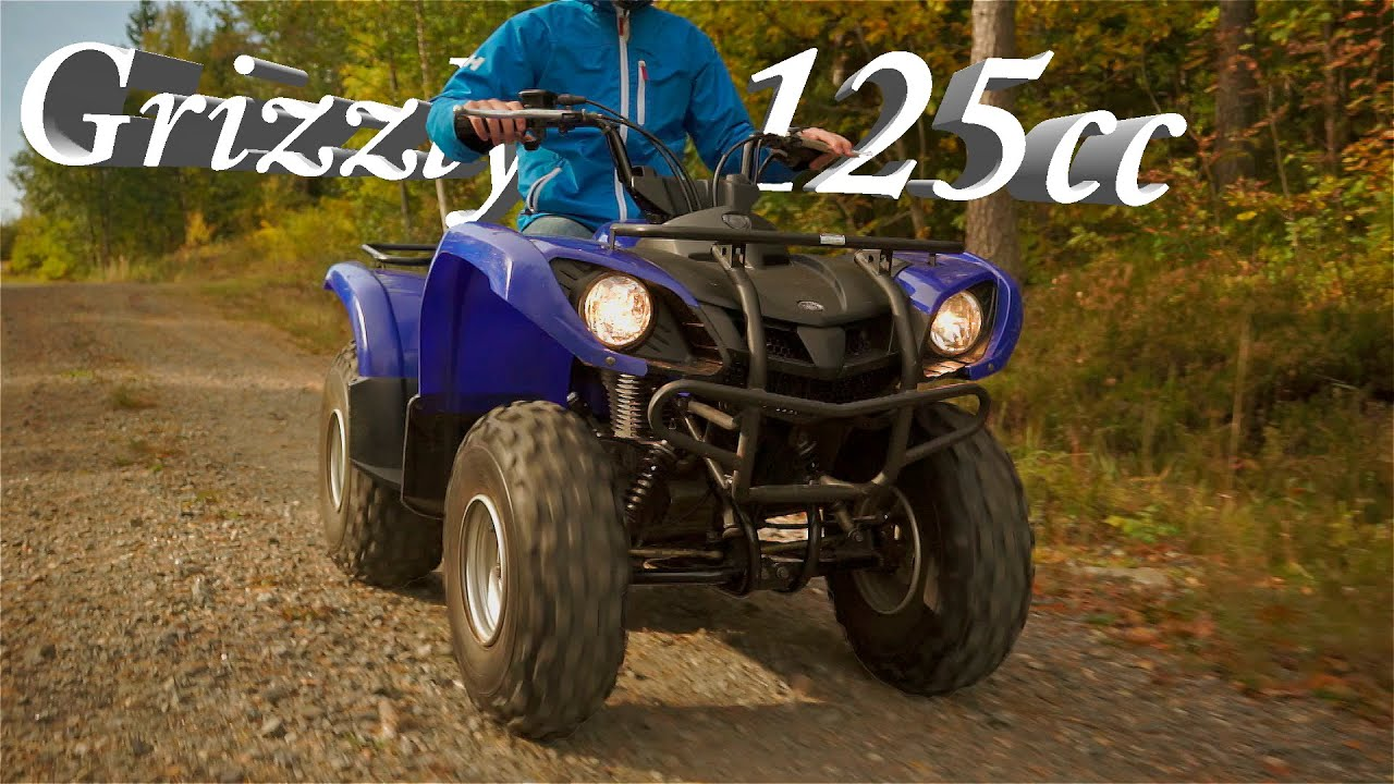 Grizzly 125cc - YouTube