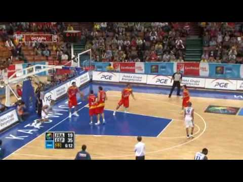Spain v Italy - Group B - Game Highlights - EuroBasket 2015 from YouTube · Duration:  1 minutes 44 seconds
