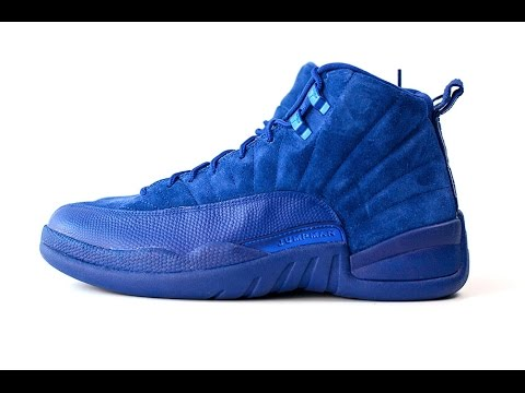 fab519bb5cb Air Jordan 12 Deep Royal Blue • KicksOnFire.com