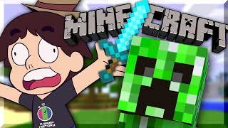 Playing Minecraft For The First Time
