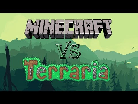 Подробный обзор Minecraft и Terraria