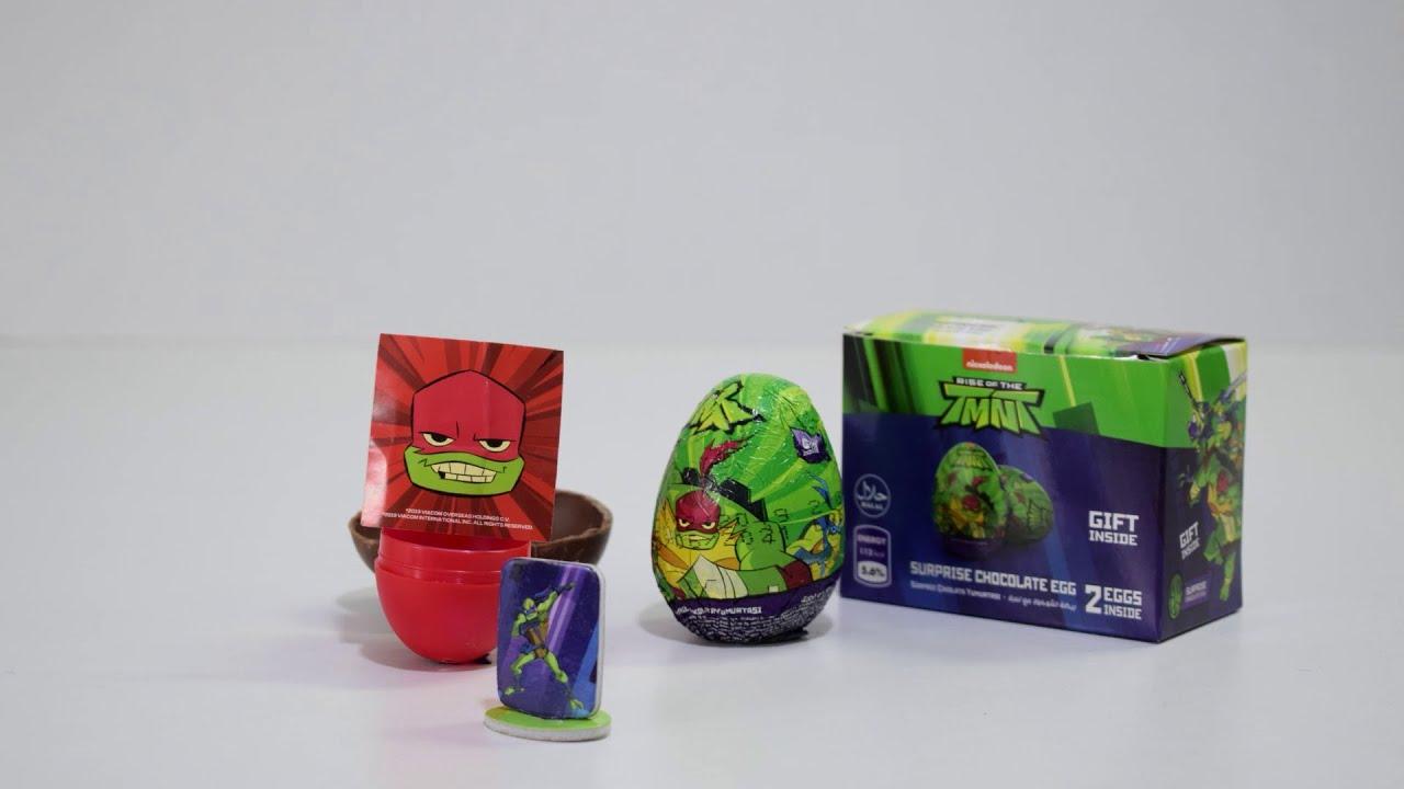 جرب حلوى وشوكولاتة سلاحف النينجا المتوفرة من  #sweetbox #RTMNT