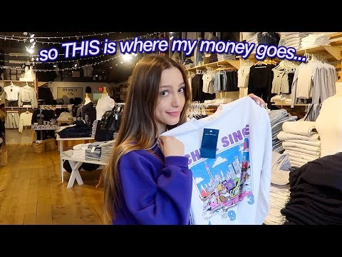 the ULTIMATE brandy melville shopping spree