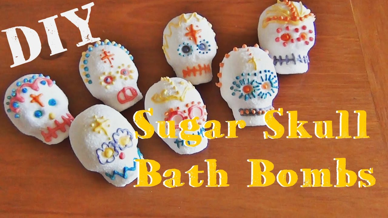 Sugar Skull Bathroom Decor Sugar Skull Bath Bombs Diy Day Of The Dead Youtube