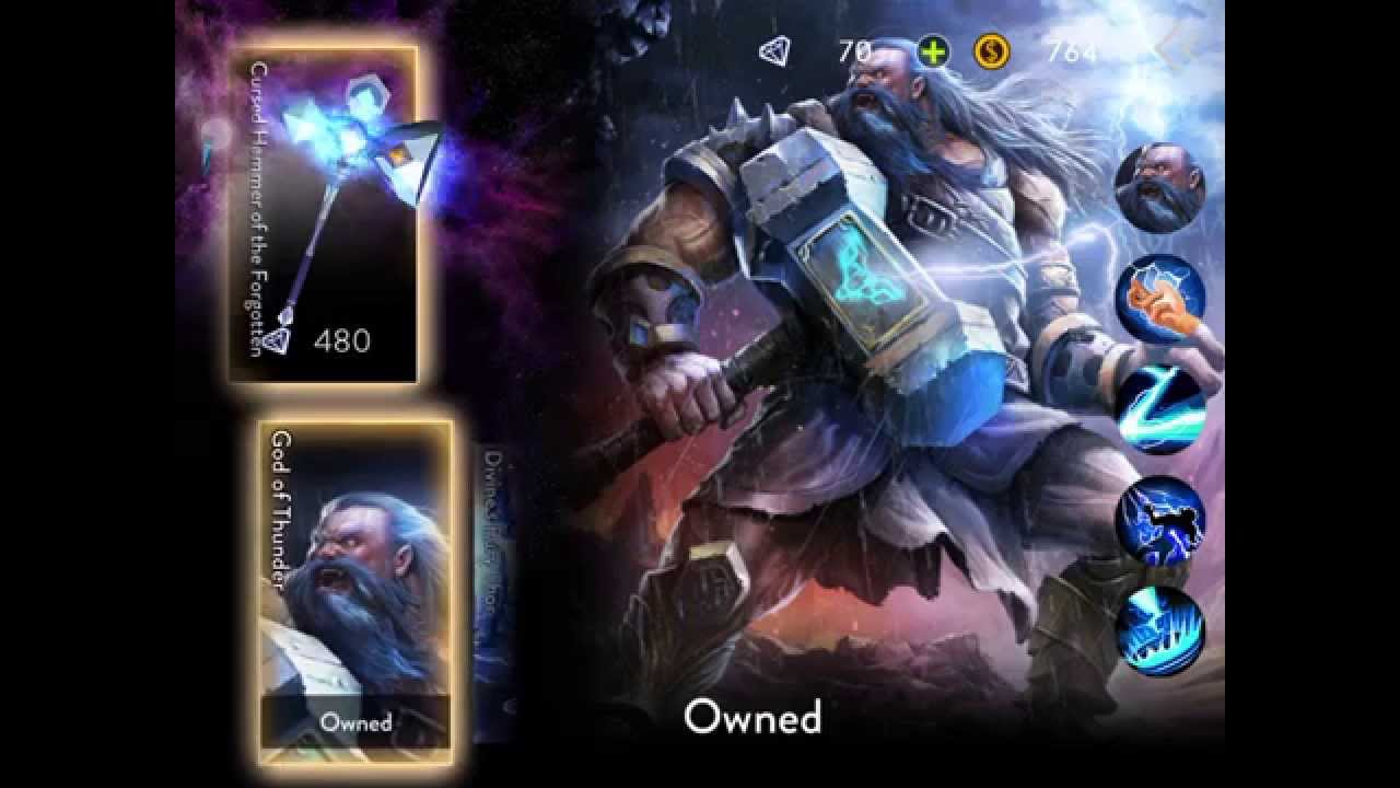 Ace of Arenas MOBA OFFLINE Mode THOR VS ELECTA Gameplay iOS/Android Soft  Launch GAEA mobile