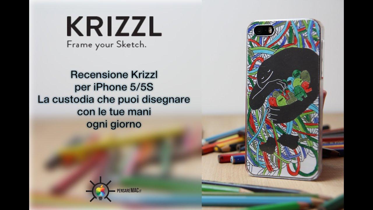 Krizzl: la cover per iPhone che ti disegni da solo