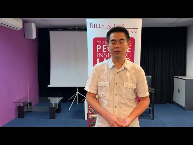 Master Practitioner Live By Design (MLBD) - Daniel Foo (July 2020)
