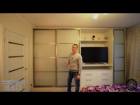 шкафы купе в зал с телевизором!