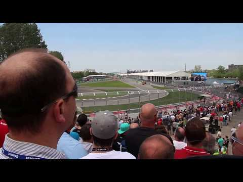 fighter jets fly over Canadian Grand Prix