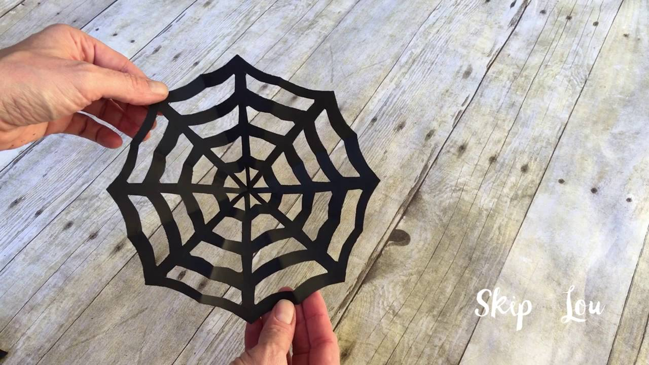 How To Make A Paper Spider Youtube