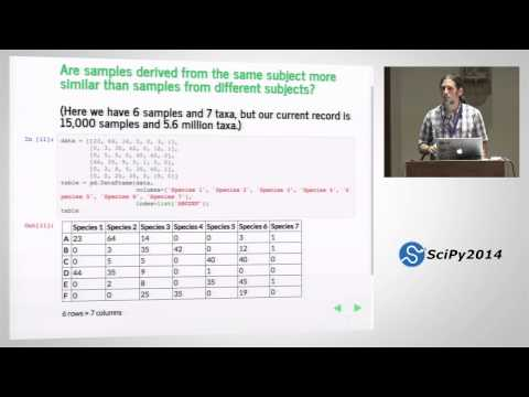 scikit bio: core bioinformatics data structures+algorithms i