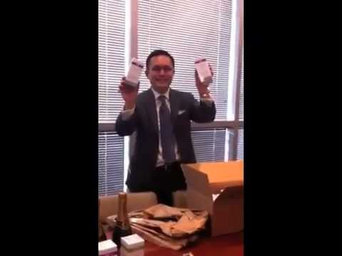 Opening the First Packages of Ova Skin Care