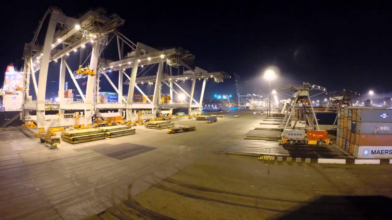 24-Uurs Operatie Op De ECT Delta Terminal