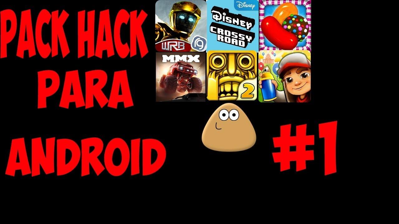 Pack De Juegos Hackeados Para Android 1 Youtube