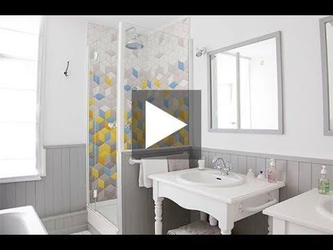 comment poser un panneau de douche d co k in youtube. Black Bedroom Furniture Sets. Home Design Ideas