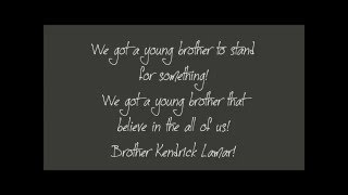 Kendrick Lamar - I Love Myself Lyrics
