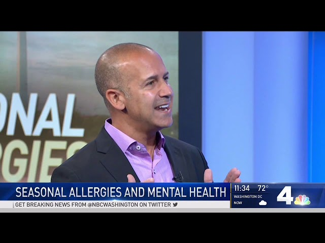 NBC4 - NBC4 - Seasonal Allergies Can Have Negative Effect on Mental Health
