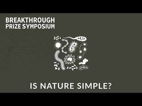 Is Nature Simple? 2018 Breakthrough Prize Symposium Panel