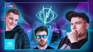 WILLNE & STEPHEN TRIES WATCH-ALONG LIVE | FORMULA E VOLTAGE ⚡ | MARRAKESH 🌍