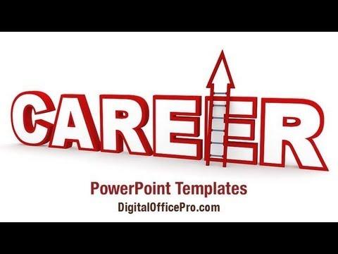career ladder powerpoint template backgrounds digitalofficepro