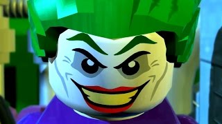 LEGO Batman 2 DC Super Heroes - All Cutscenes Full Movie HD
