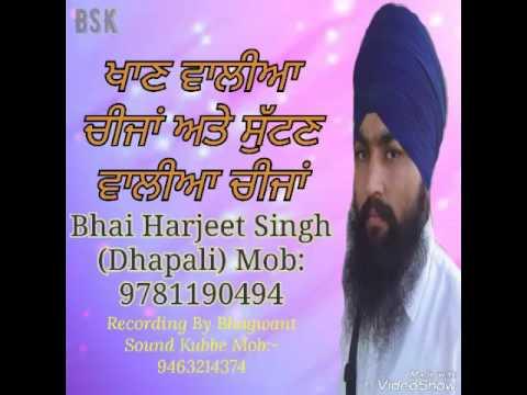 Bhai Harjeet Singh Ji Dhapali