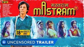 Mastram - Web Series | Uncensored Trailer | Rated 18+ | Anshuman Jha | MX Player