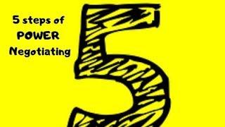 5 Step POWER Negotiating Model