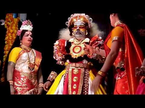 Yakshagana Mandarthi Kshetra Mahatme - 9 - ನಂದಿಯ ಶಾಪ