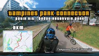 8KM Tampines Park Connector   Pasir Ris Park To Bedok Reservoir Park   Cycling Singapore